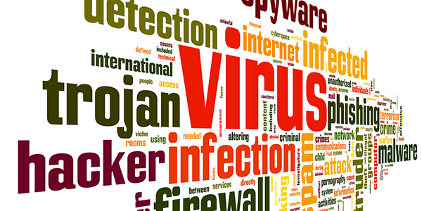 virus malware removal infection repair logo